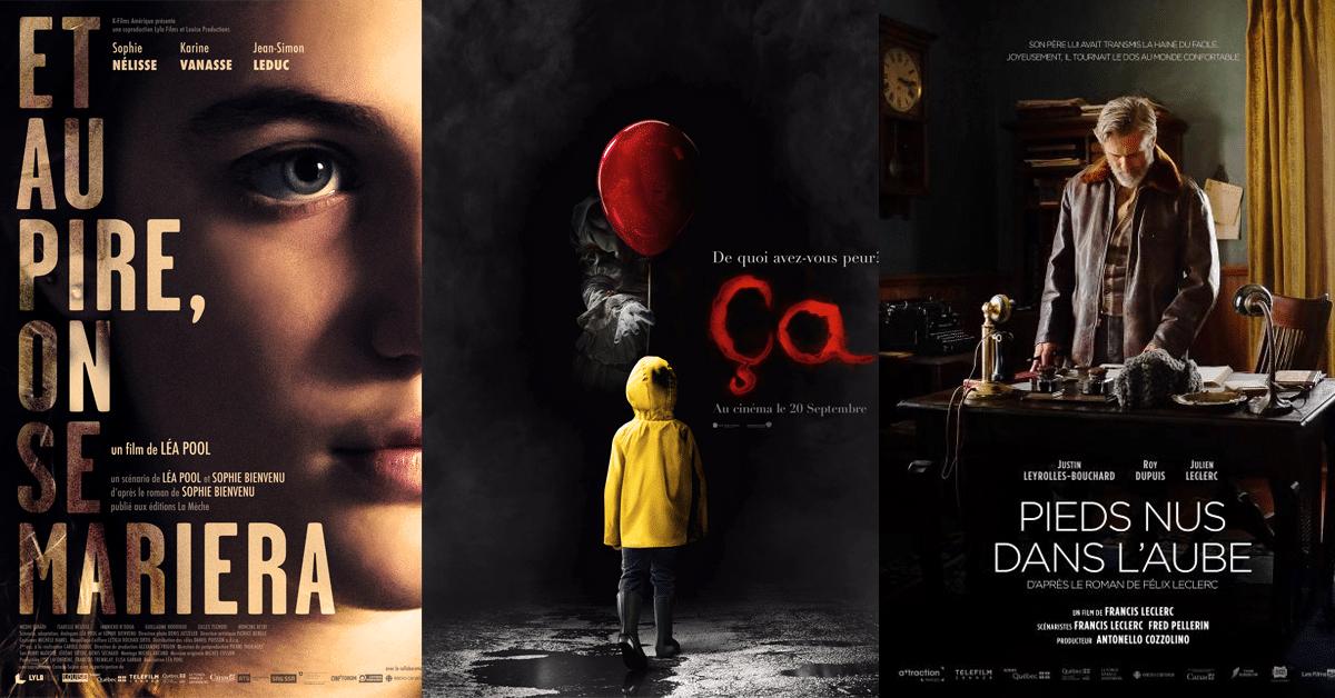 L'automne cinéma : 18 adaptations à ne pas manquer