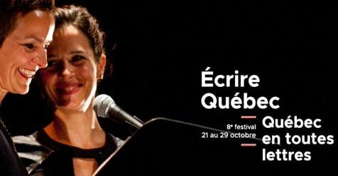 Le festival Québec en toutes lettres dévoile sa programmation