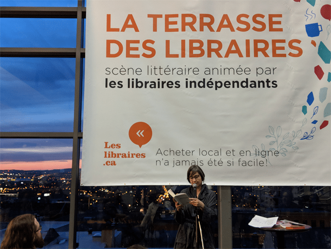 Terrasse des libraires