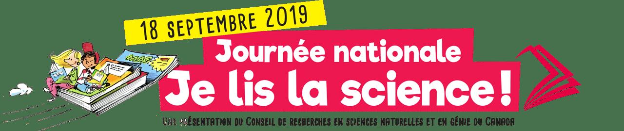 Journée nationale Je lis la science!
