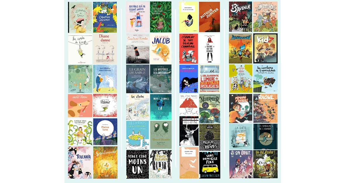 Prix jeunesse des libraires du Québec 2020 : la liste préliminaire
