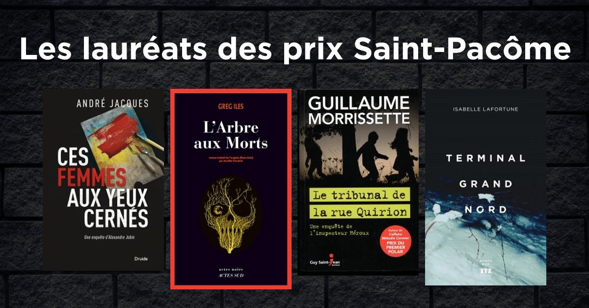 Les lauréats des prix Saint-Pacôme