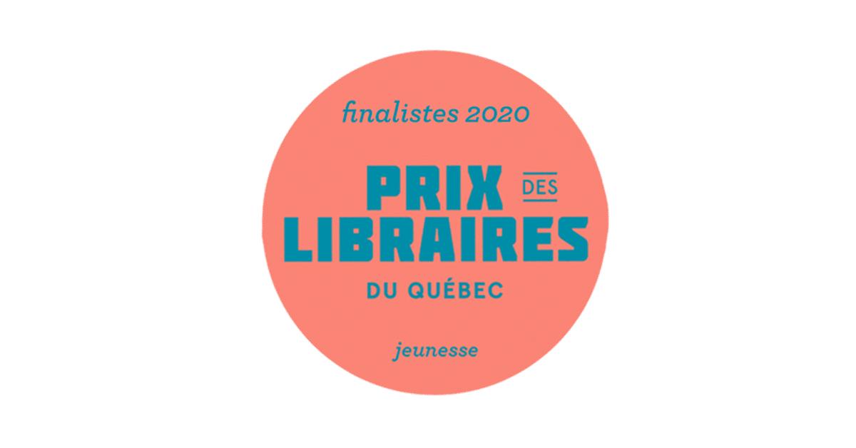 Les finalistes du Prix jeunesse des libraires du Québec 2020