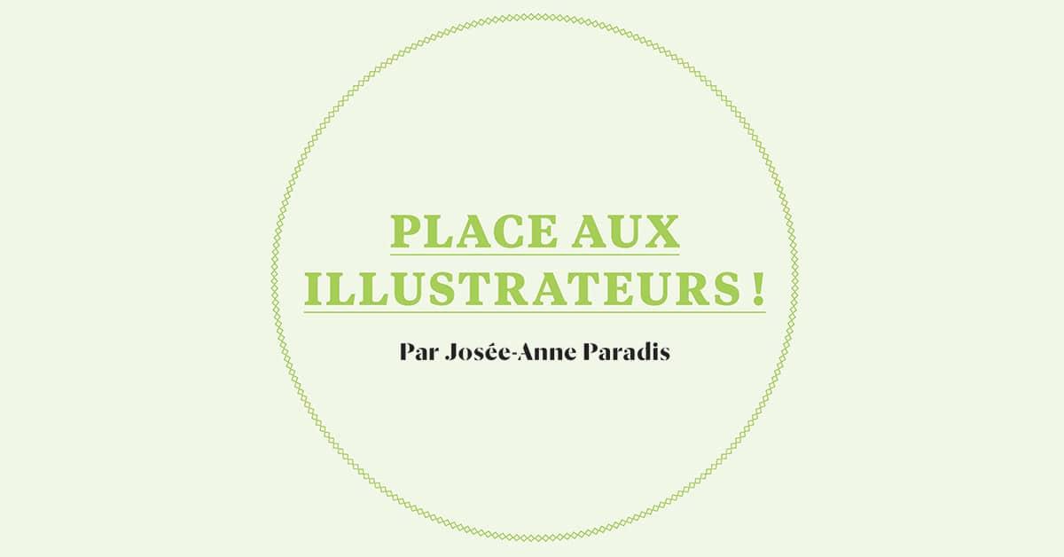 Place aux illustrateurs!