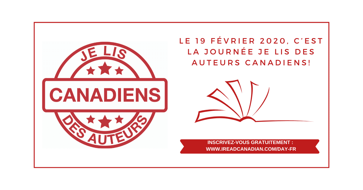 Première édition de la Journée Je lis des auteurs canadiens