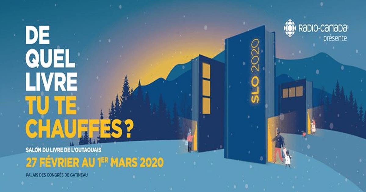 Salon du livre de l'Outaouais 2020