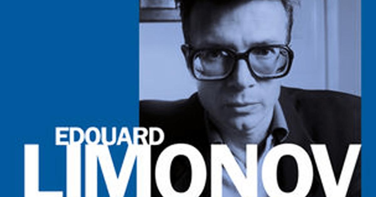 Mort d'Edouard Limonov