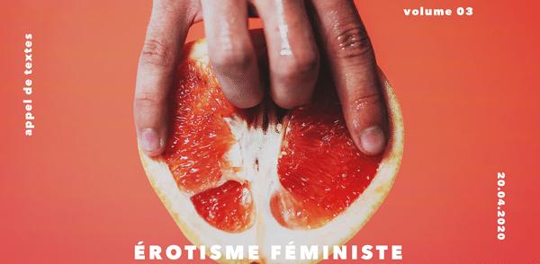 Érotisme féministe : appel de textes
