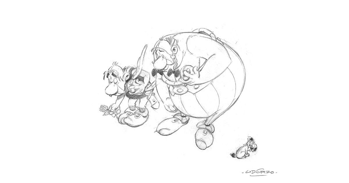 Mort d'Uderzo, le dessinateur d'Astérix