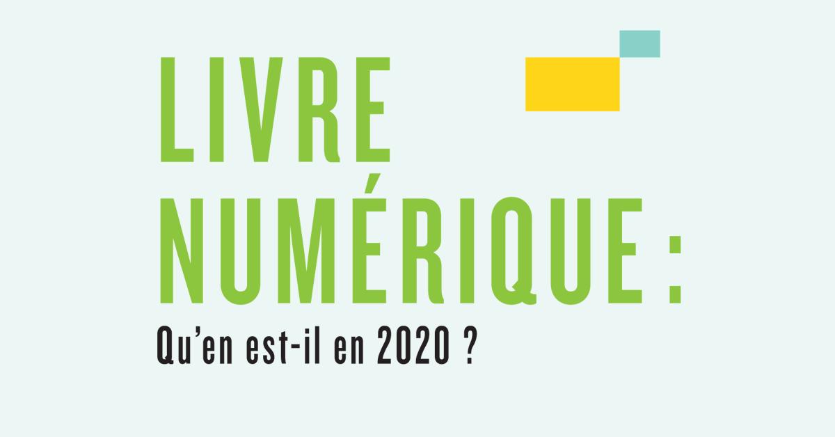 Livre numérique : Qu'en est-il en 2020?