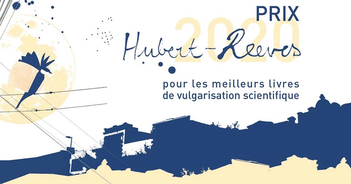 Les finalistes du prix Hubert-Reeves 2020