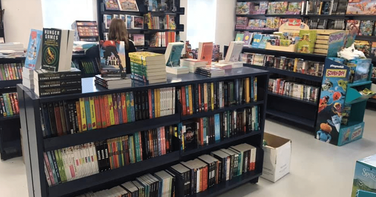 Librairie Larico ouvre un local temporaire