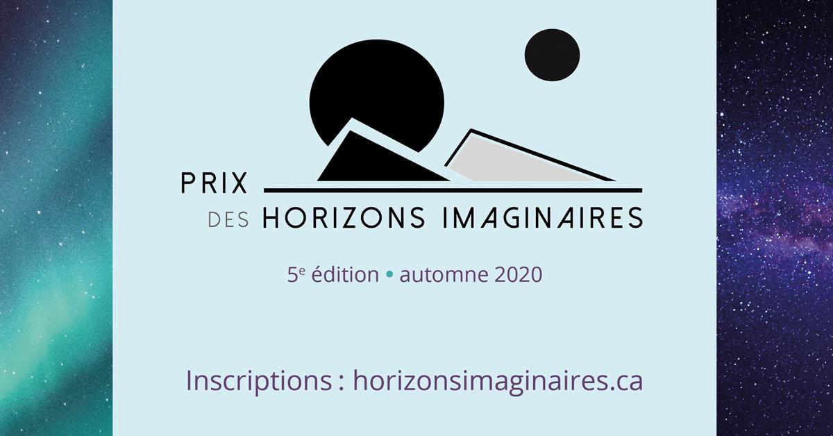 Les trois finalistes du Prix des Horizons imaginaires