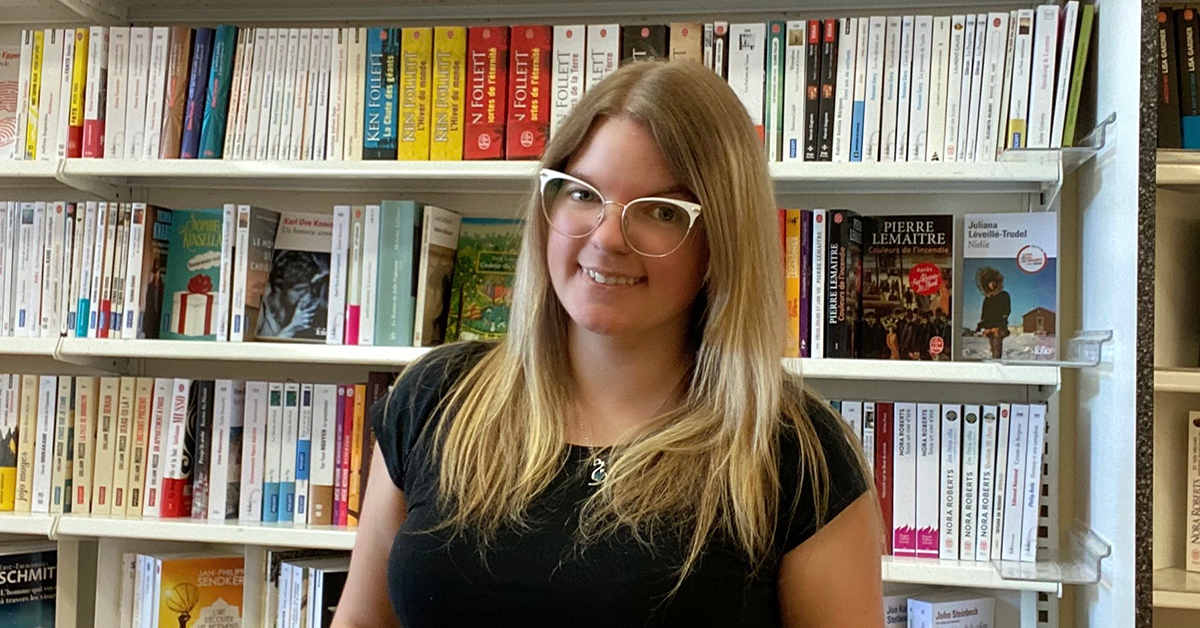 Christine Picard, nouvelle propriétaire de la librairie L'Option à La Pocatière