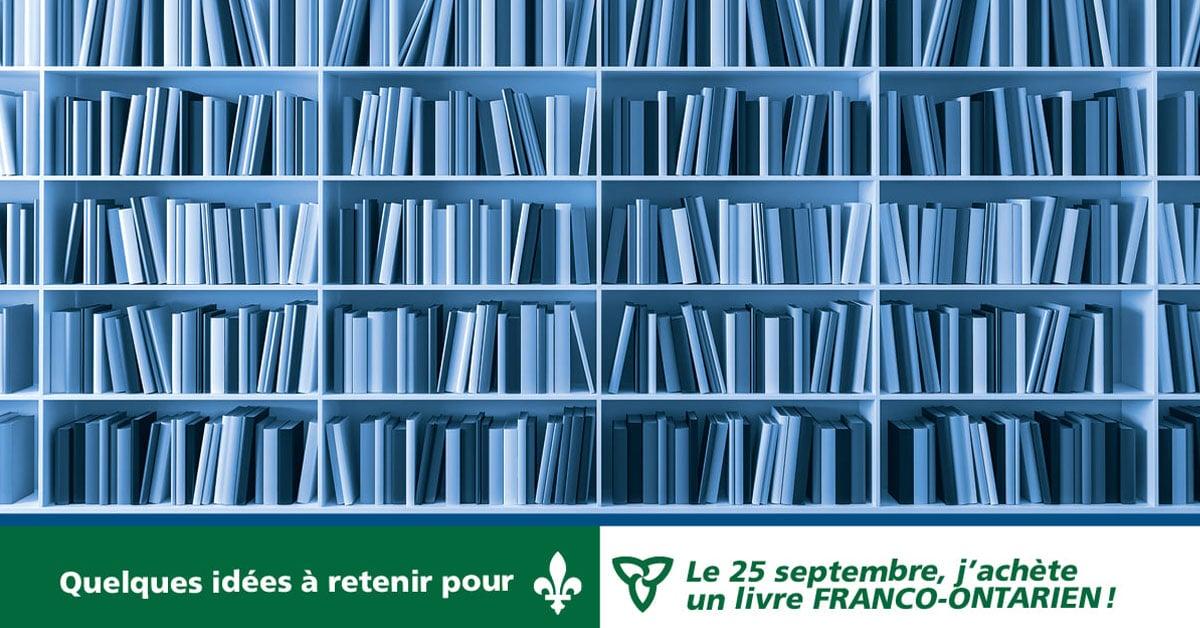 Le 25 septembre, j'achète un livre franco-ontarien!, édition 2020