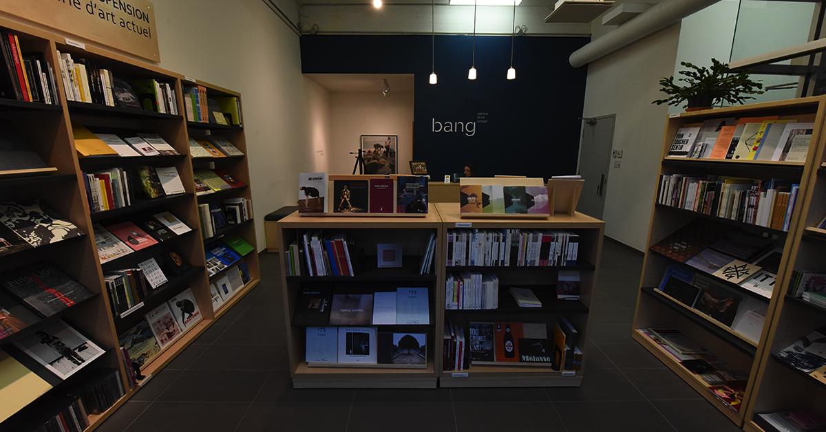 Point de suspension, une librairie en art actuel