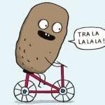 Avatar - Une patate à vélo, le jeu de société
