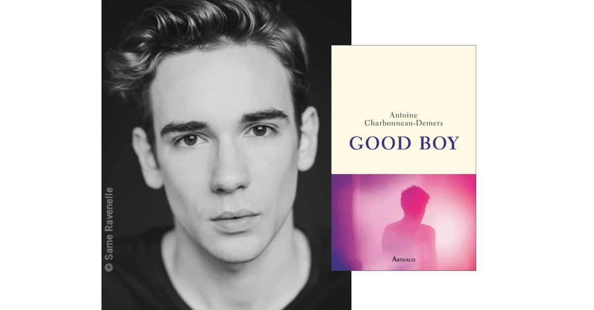 Antoine Charbonneau-Demers remporte le Prix du roman gay
