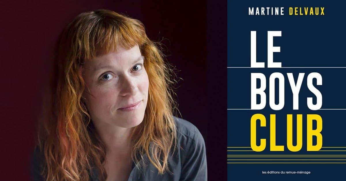 Le Grand Prix du livre de Montréal décerné à Martine Delvaux