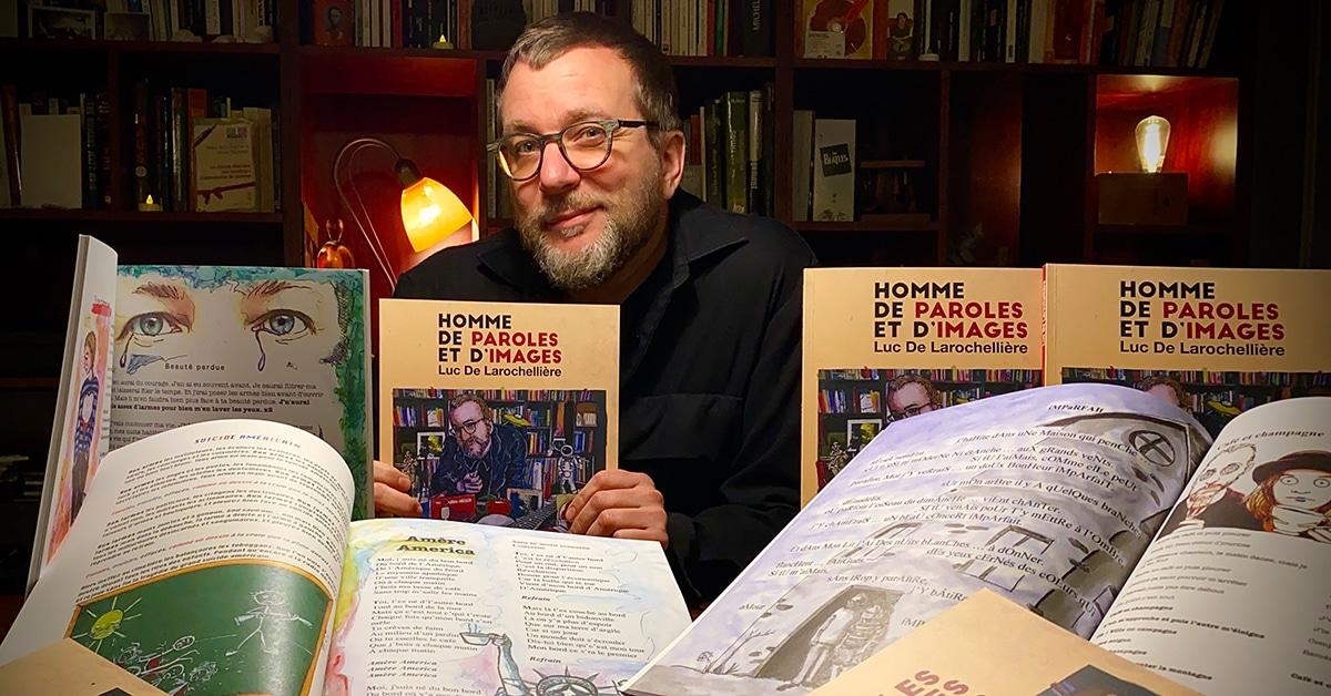 Les trois livres qui ont marqué... Luc De Larochellière