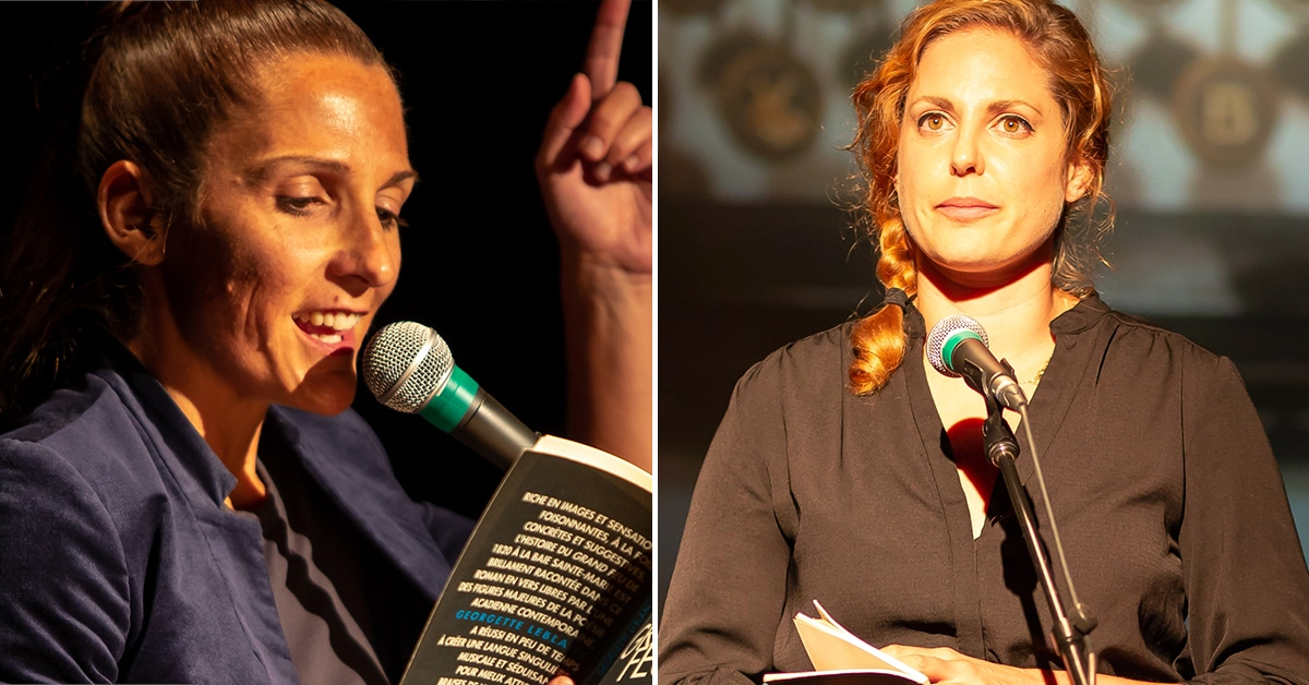 Rencontre entre Georgette LeBlanc et Émilie Turmel : Libre comme un poème