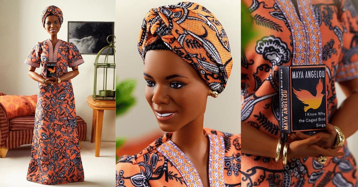 Une Barbie à l'effigie de Maya Angelou