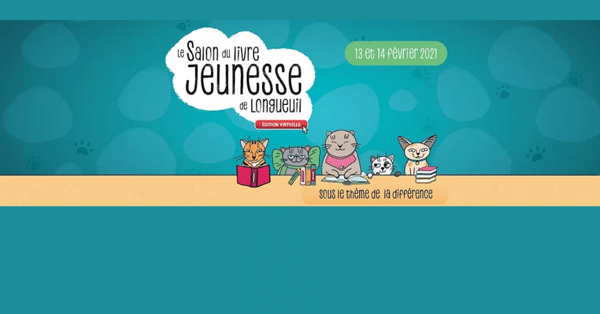 Le Salon du livre jeunesse de Longueuil se lance dans une édition virtuelle