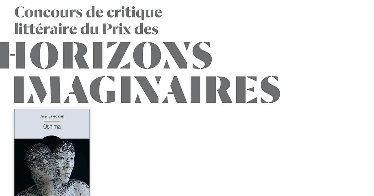 Concours de la critique littéraire du Prix des Horizons imaginaires