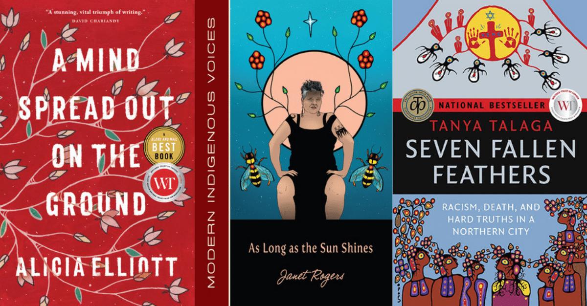 Une série d'entrevues mettant en valeur les écrivains autochtones