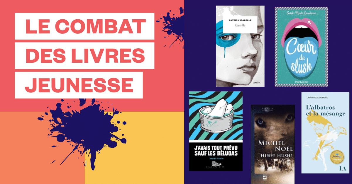 Le roman <i>Camille</i> remporte le Combat des livres jeunesse