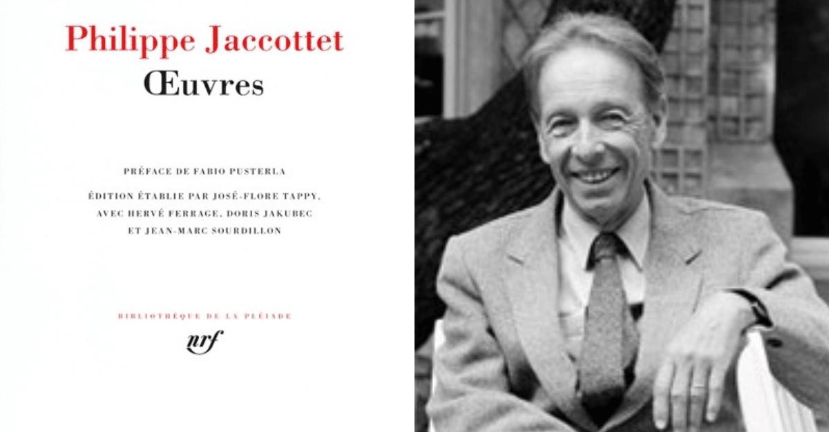 Décès du poète Philippe Jaccottet