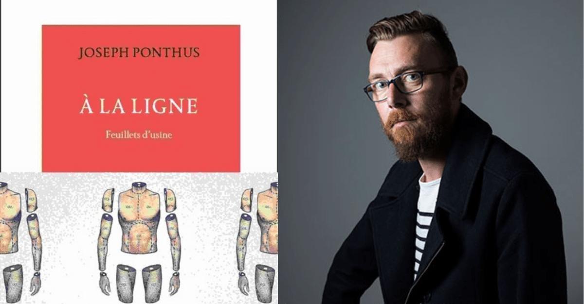 Décès de l'écrivain Joseph Ponthus