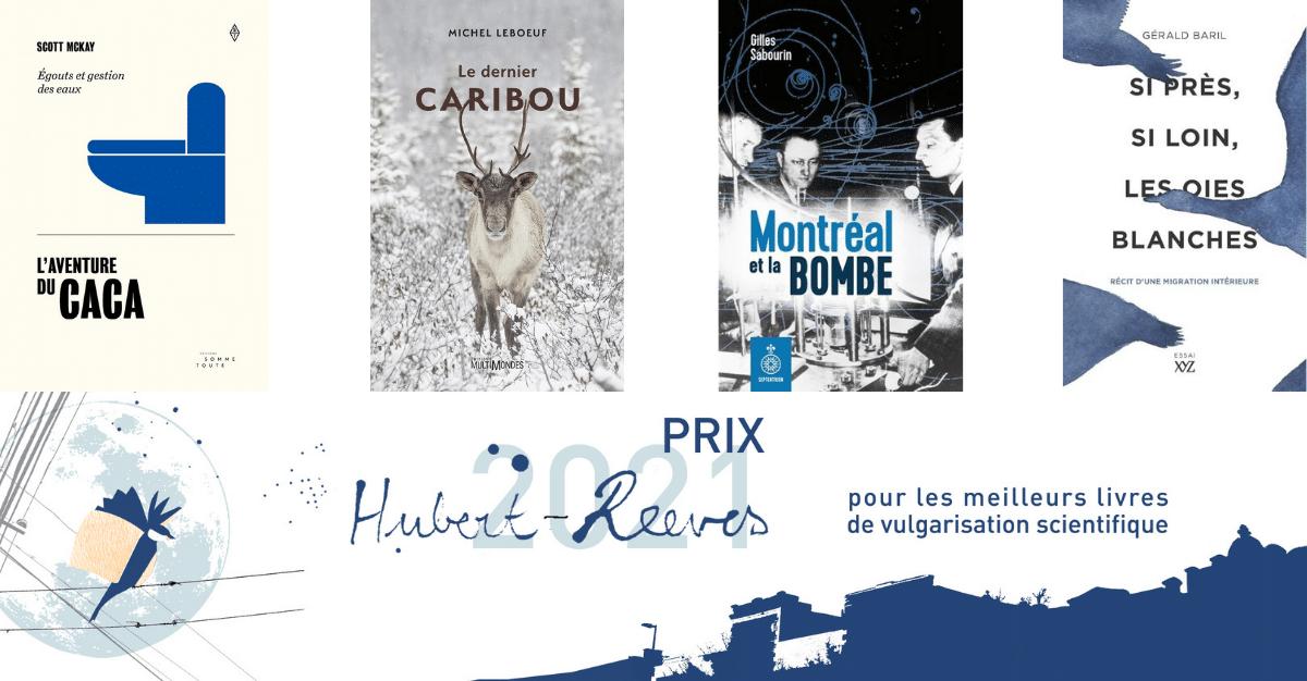 Découvrez les finalistes du prix Hubert-Reeves