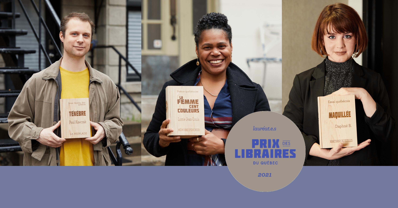 Le Prix des libraires du Québec dévoile ses lauréats