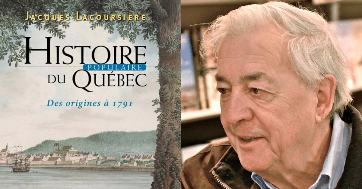 Décès de Jacques Lacoursière