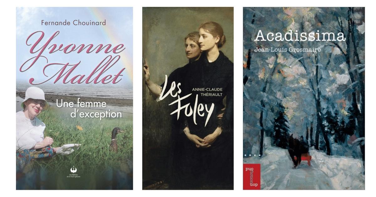 Trois finalistes au prix France-Acadie